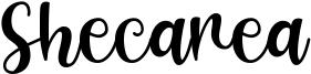 Shecarea Font