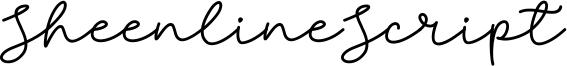 Sheenline Script Font