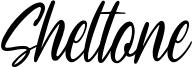 Sheltone Font
