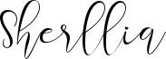 Sherllia Font