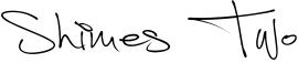 Shimes Two Font