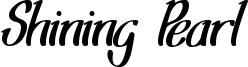 Shining Pearl Font
