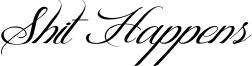 Shit Happens Font