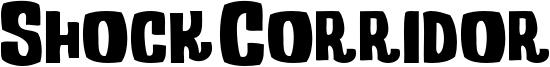Shock Corridor Font