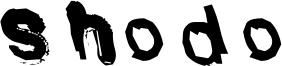 Shodo Font