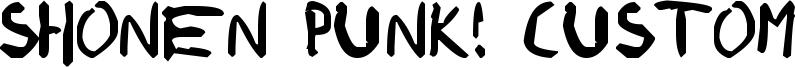ShonenPunk custom.ttf