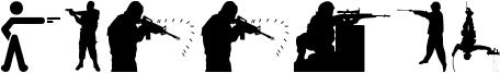 Shooter Font