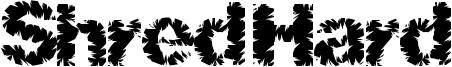 Shred Hard Font