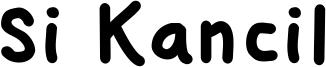 Si Kancil Font