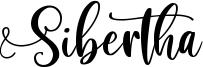 Sibertha Font