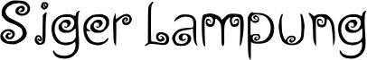 Siger Lampung Font
