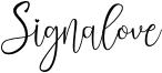 Signalove Font
