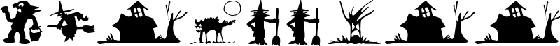 Silbooettes Font
