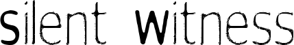 Silent Witness Font