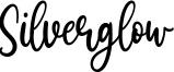 Silverglow Font
