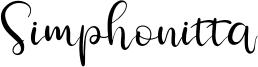 Simphonitta Font