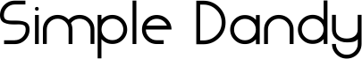 Simple Dandy Font