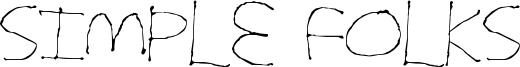Simple Folks Font