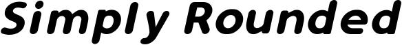 Simply Rounded Italic.ttf