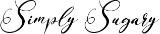 Simply Sugary Font