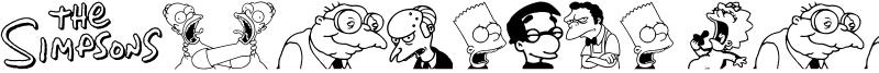 Simpsons Mmmm...Font Font