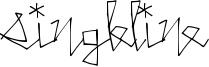SingleLine Font
