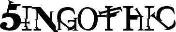 Singothic Font