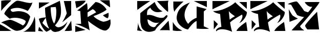 Sir Guppy Font