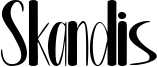 Skandis Font