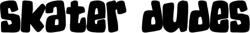 Skater Dudes Font