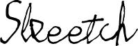 Skeetch Font