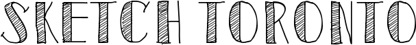 Sketch Toronto Font