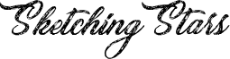 Sketching Stars Font
