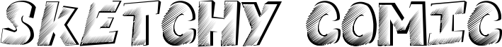 Sketchy Comic Font