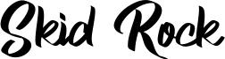 Skid Rock Font