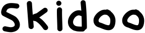 Skidoo Font
