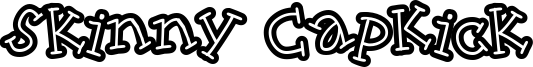 Skinny CapKick Font