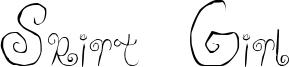 Skirt Girl Font