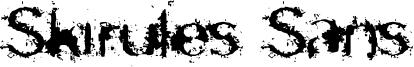 Skirules Sans Font