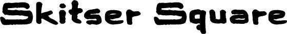 Skitser Square Font