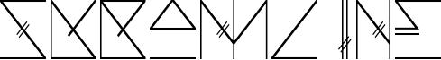 Skramline Font