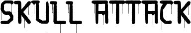Skull Attack Font