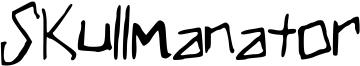 Skullmanator Font