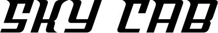 Sky Cab Font