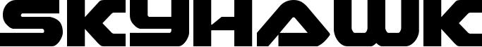 Skyhawk Font