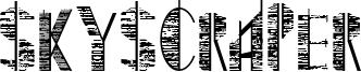 Skyscraper Font