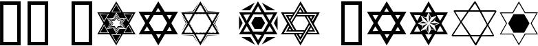 SL Star of David Font