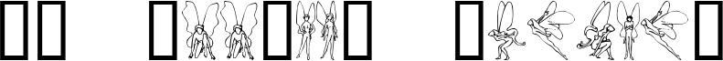 SL Woodcut Faeries Font