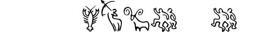 SL Zodiac Icons Font