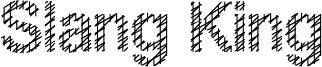 Slang King Font